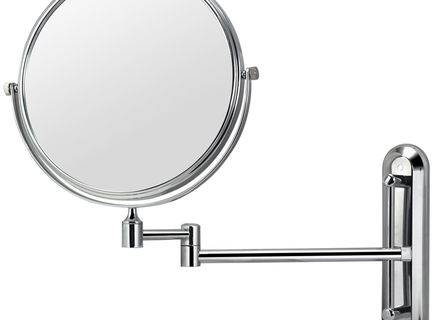 Inspiration about 9 Magnifying Bathroom Wall Mirror, Led Light 2 Sided Bathroom Make Within Extending Wall Mirrors (#11 of 15)
