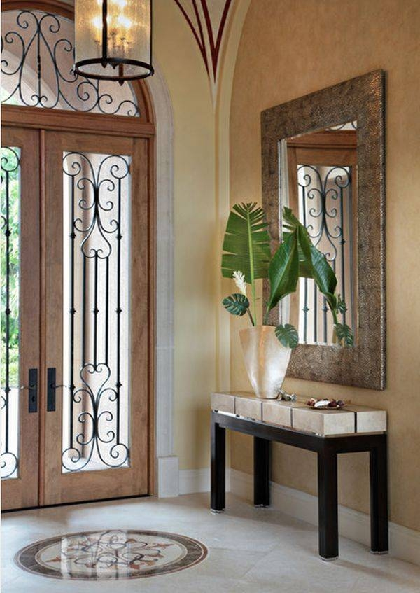 Inspiration about 95 Best Grand Entry Design Images On Pinterest | Homes, Luxury With Regard To Entryway Wall Mirrors (#4 of 15)