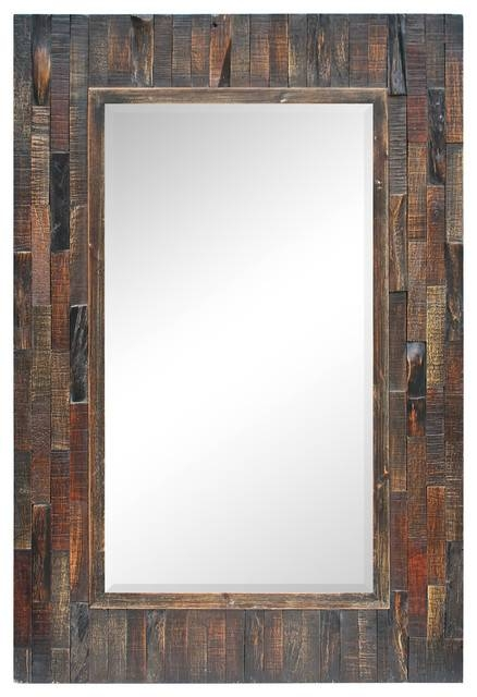 Acacia Wall Mirror – Rustic – Wall Mirrors  Renwil With Rustic Wall Mirrors (#3 of 15)
