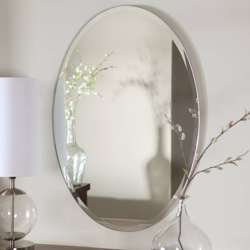 Accessories For Bathroom Wall Decoration Design Ideas Using Within Oval Bathroom Wall Mirrors (View 6 of 15)