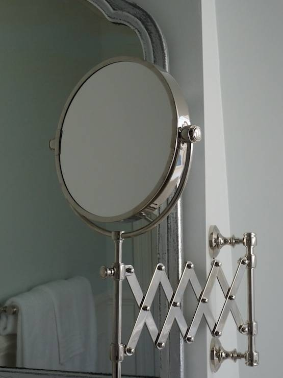 Accordion Extension Mirrors Design Ideas Throughout Bathroom Extension Mirrors (#3 of 15)