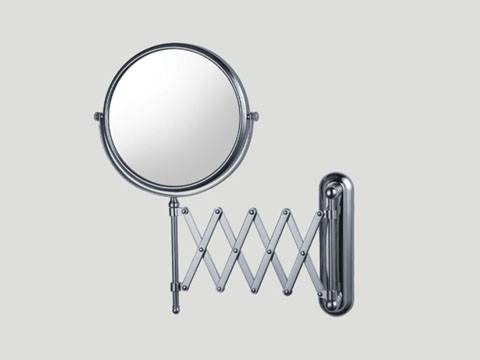 Adjustable Wall Mounted Magnifying Mirror 1032 Within Magnifying Wall Mirrors (#2 of 15)