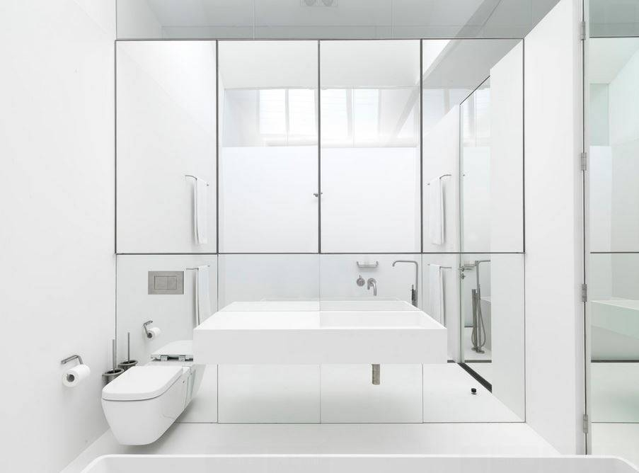 Popular Photo of Contemporary Bathroom Wall Mirrors