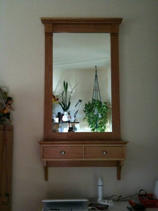 Adorable 90+ Wall Mirror With Shelf Inspiration Of Hakusan In Wall Mirrors With Shelf (#2 of 15)