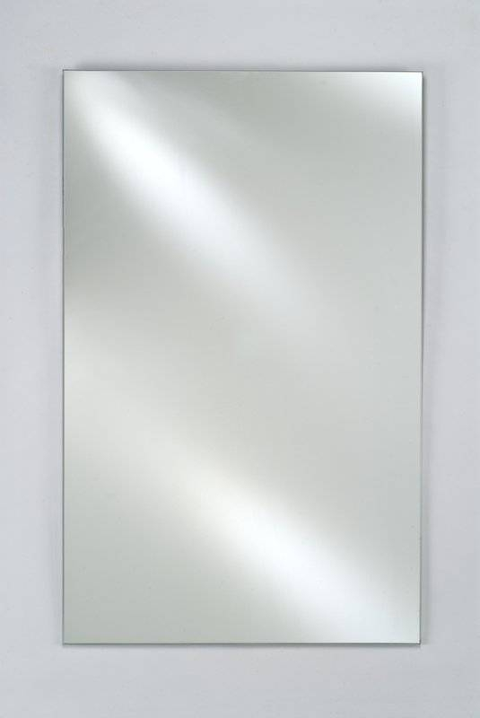 Afina Signature Plain Wall Mirror & Reviews   Wayfair Intended For Plain Wall Mirrors (#1 of 15)