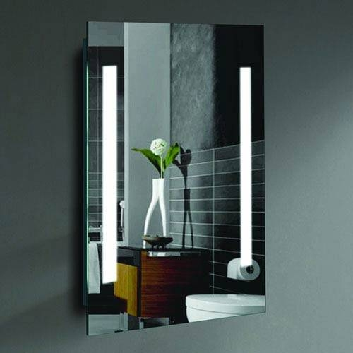 Alex 24 X 36 Inch Led Lighted Wall Mirrorcivis Usa Creators Intended For Lighted Wall Mirrors (#1 of 15)