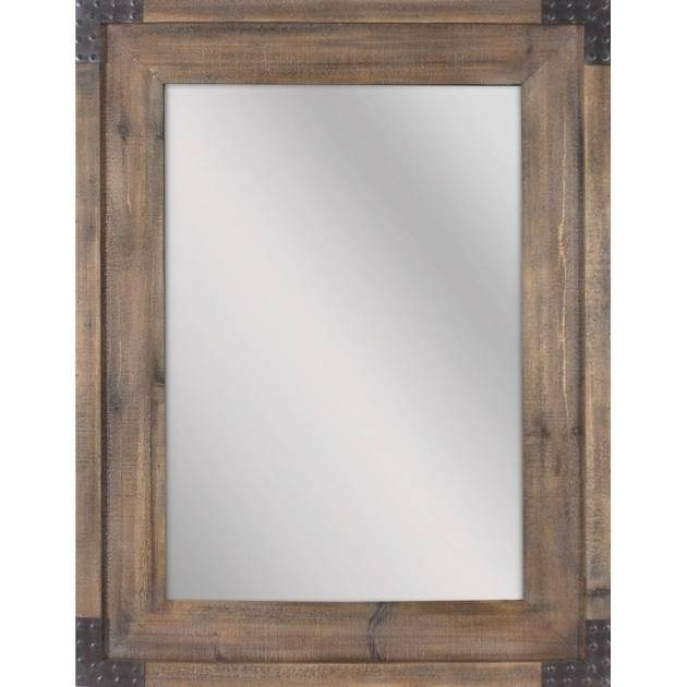Alluring Cherry Wood Framed Wall Mirrors Shop Mirrors Mirror With Regard To Cherry Wood Framed Wall Mirrors (#1 of 15)