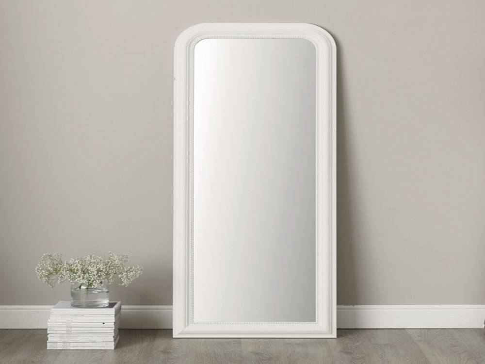 15 inspirations of white full length wall mirrors for White full length wall mirror