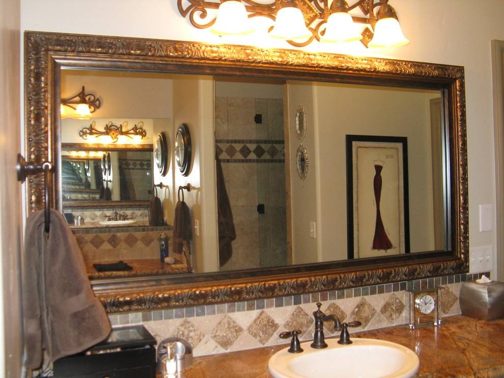 Amazing Stunning Decorative Bathroom Mirrors Marvellous Design Intended For Decorative Bathroom Wall Mirrors (#2 of 15)