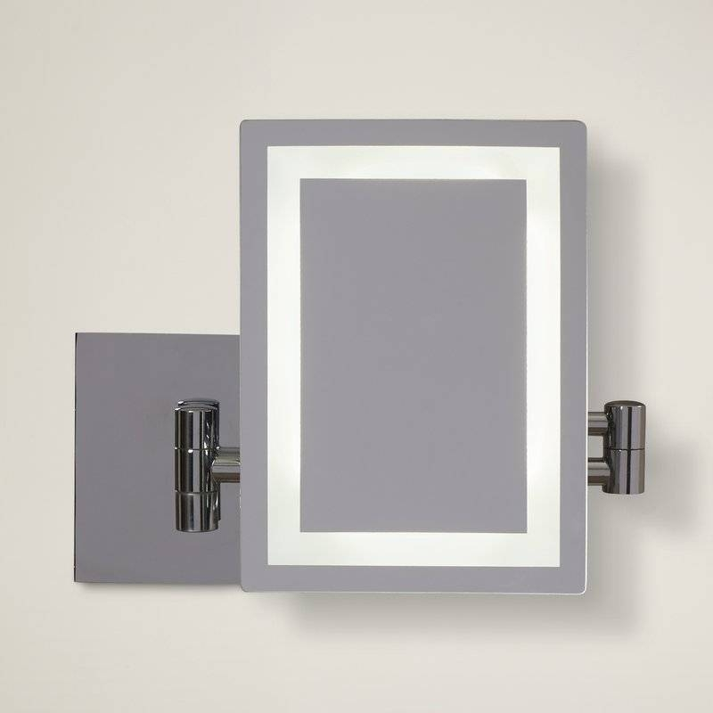 American Imaginations Rectangle Led Wall Mirror & Reviews | Wayfair Regarding Led Wall Mirrors (#1 of 15)