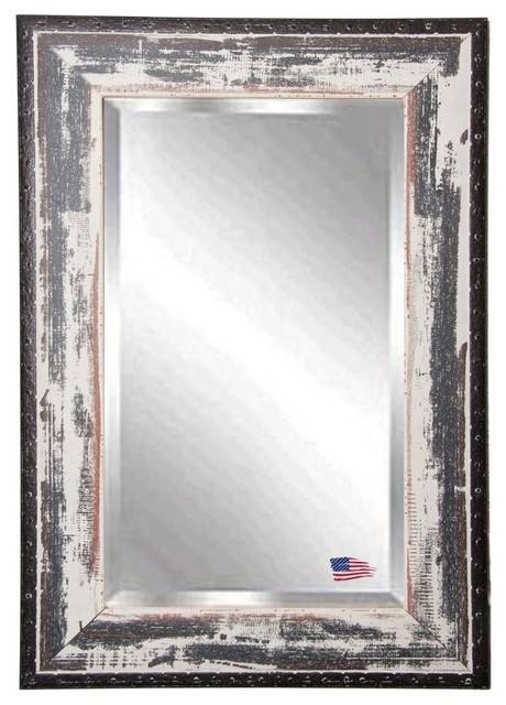 Popular Photo of Distressed Wall Mirrors