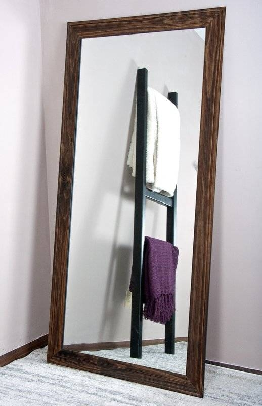 American Value Urban Wood Tall Vanity Wall Mirror & Reviews | Wayfair Intended For Tall Wall Mirrors (#2 of 15)