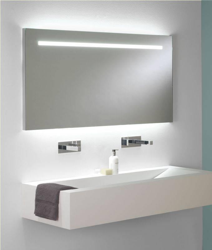 Amusing Large Illuminated Bathroom Mirror Design Ideas Led Round Pertaining To Led Illuminated Bathroom Mirrors (#2 of 15)