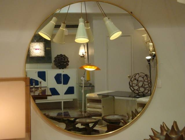 Popular Photo of Ikea Round Wall Mirrors