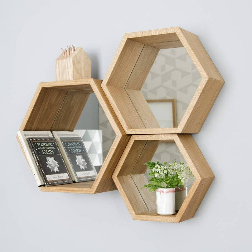 An Exceptional Selection Of Statement Wall Mirrors Regarding Hexagon Wall Mirrors (View 11 of 15)
