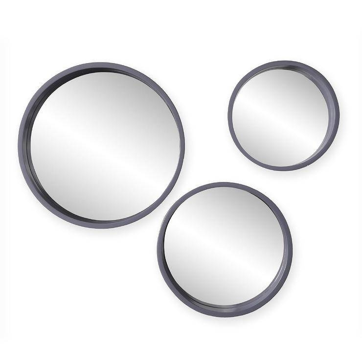 15 best ideas of round wall mirror sets. Black Bedroom Furniture Sets. Home Design Ideas
