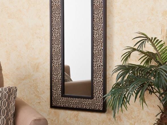 Animal Print Decorative Mirror – Leopard In Leopard Wall Mirrors (#3 of 15)