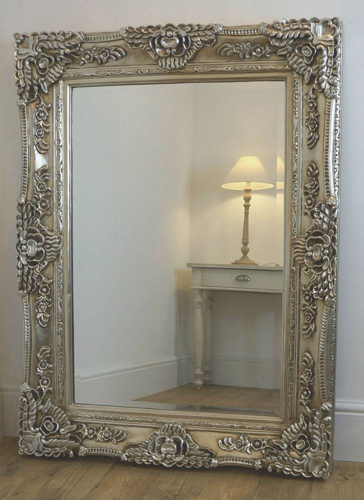 Antique Frameless Wall Mirrors Antique Full Length Wall Mirrors In Antique Gold Wall Mirrors (#5 of 15)