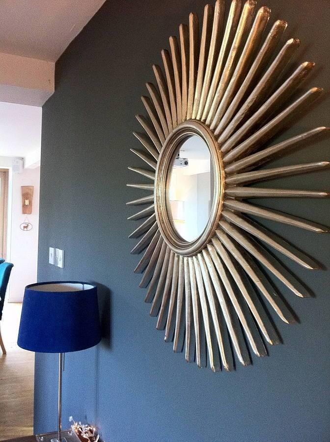 Antique Sunburst Wall Mirror : Doherty House – Makes A Sunburst With Sunburst Wall Mirrors (View 6 of 15)