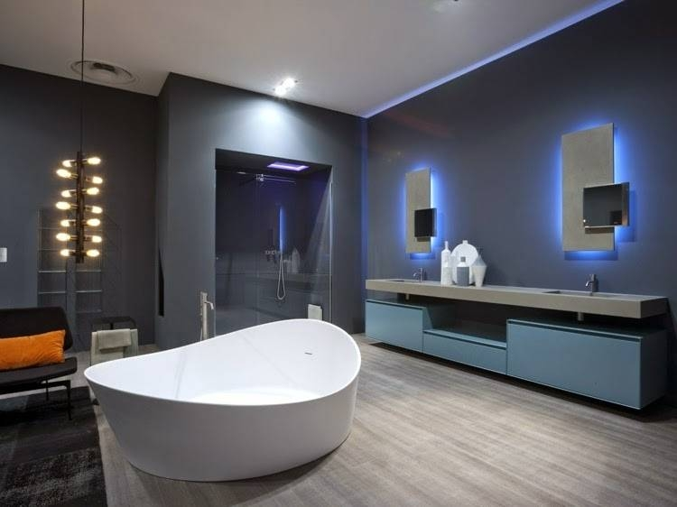 Appealing Bathroom Mirror With Lights Luxurious Bathub And Elegant Inside Bathroom Mirrors With Led Lights (#1 of 15)