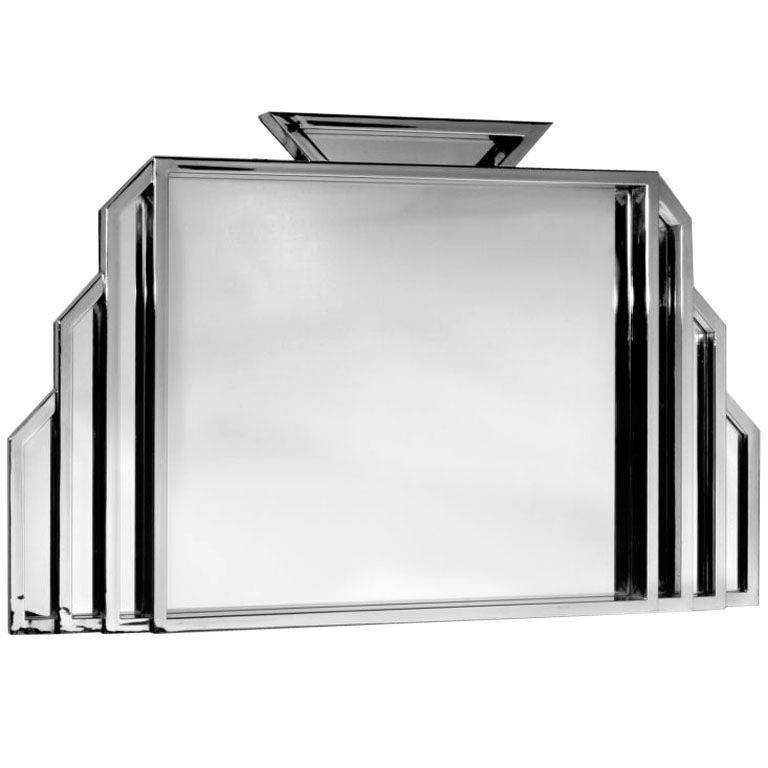 Art Deco Wall Mirror – Interior4You Intended For Deco Wall Mirrors (#3 of 15)