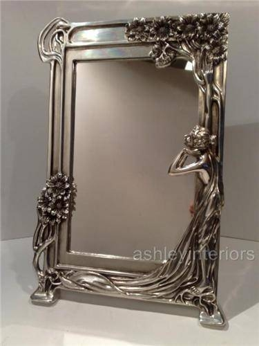 Art Nouveau Wall Mirror – Wall Murals Ideas Intended For Deco Wall Mirrors (#5 of 15)