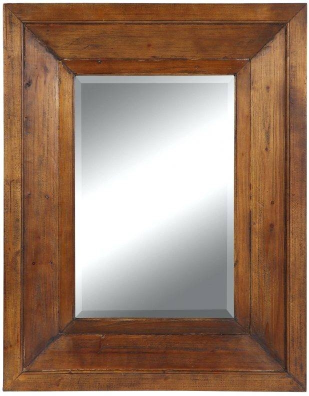 Articles With Round Wood Frame Mirror Tag: Wood Framesd Wall Mirror (#4 of 15)