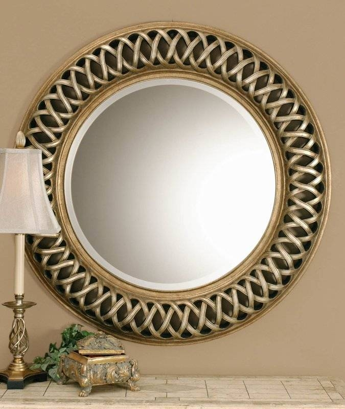 Astoria Grand Bambridge Round Plastic Wall Mirror & Reviews | Wayfair Within Plastic Wall Mirrors (#3 of 15)
