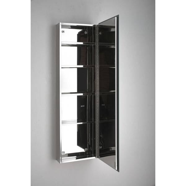 Astounding Design Mirrored Bathroom Storage Fashionable Idea Within Bathroom Wall Mirror Cabinets (#1 of 15)
