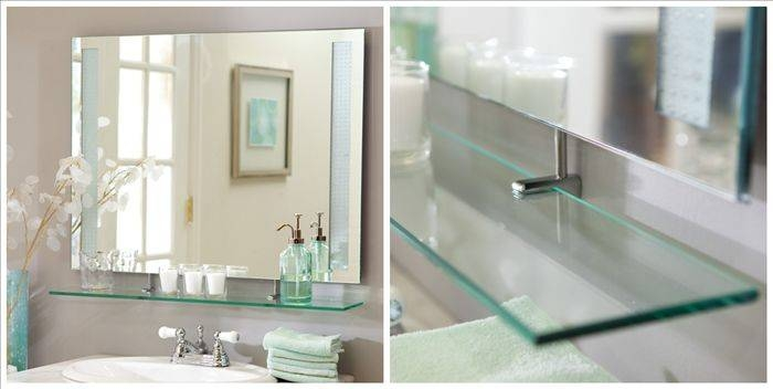 Awesome Frameless Beveled Mirrors For Bathroom 62 With Additional With Frameless Beveled Wall Mirrors (#5 of 15)