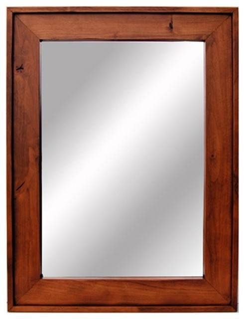 Awesome Wood Framed Wall Mirrors | About My Blog Regarding Cherry Wood Framed Wall Mirrors (#6 of 15)