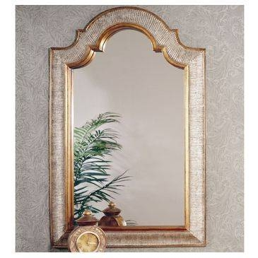 Bassett Mirror Old World Excelsior Wall Mirror In Silver And Gold Pertaining To Bassett Wall Mirrors (#5 of 15)