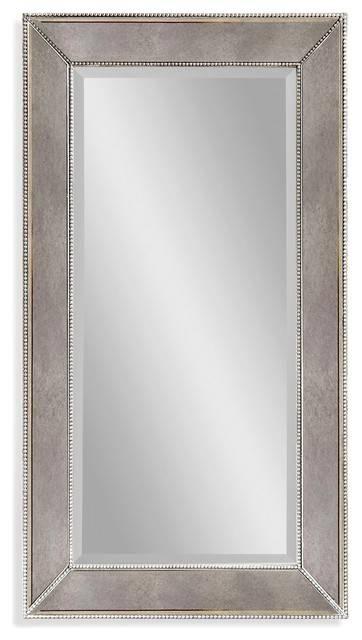 Inspiration about Bassett Mirrors Beaded 36X24 Rectangular Wall Mirror Regarding Beaded Wall Mirrors (#6 of 15)