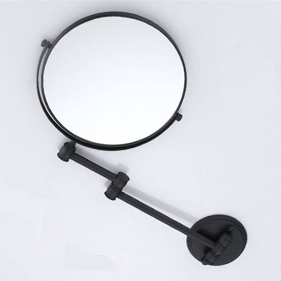 Bath Mirrors Cosmetic Makeup Mirror 8 Inch Round Wall Mirrors Of For Cosmetic Wall Mirrors (#3 of 15)