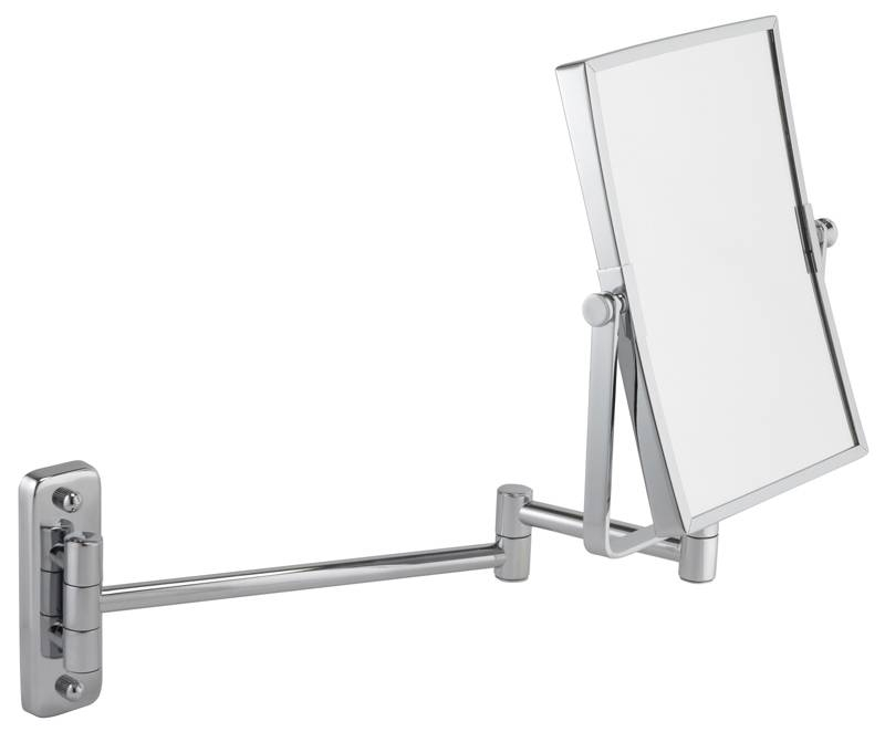 Bathroom : Bathroom Magnifying Mirror Square Antique Mirror – Realie Intended For Extending Wall Mirrors (#3 of 15)