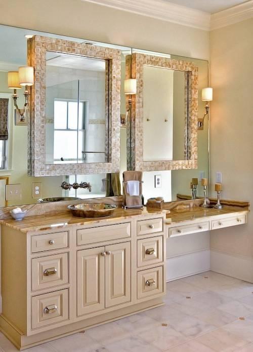 Bathroom Bathroom Mirrors For Double Vanity Remarkable Bathroom Intended For Double Vanity Bathroom Mirrors (#2 of 15)