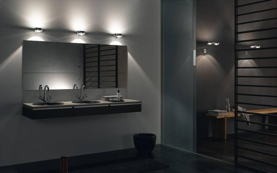 Bathroom Cabinets : Bathroom Mirrors Contemporary Bathroom Mirror Within Lights For Bathroom Mirrors (#3 of 15)