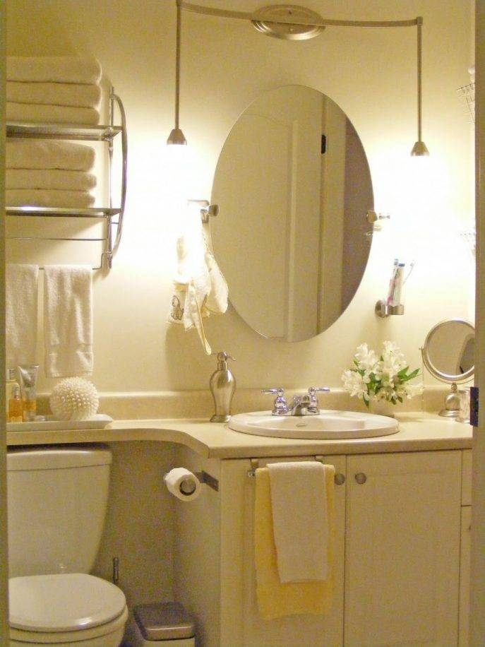 Bathroom Cabinets : Beautiful Large Oval Mirrors For Bathroom Within Hanging Wall Mirrors For Bathroom (View 9 of 15)
