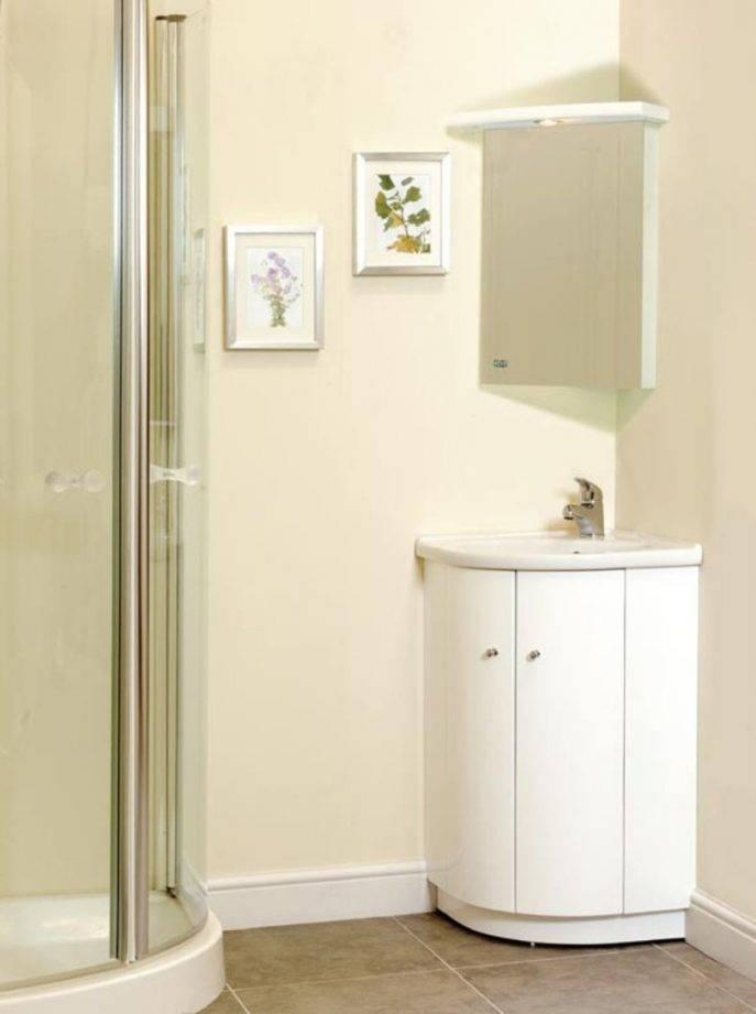 Corner Bathroom Mirror: 15 Ideas Of Corner Mirrors