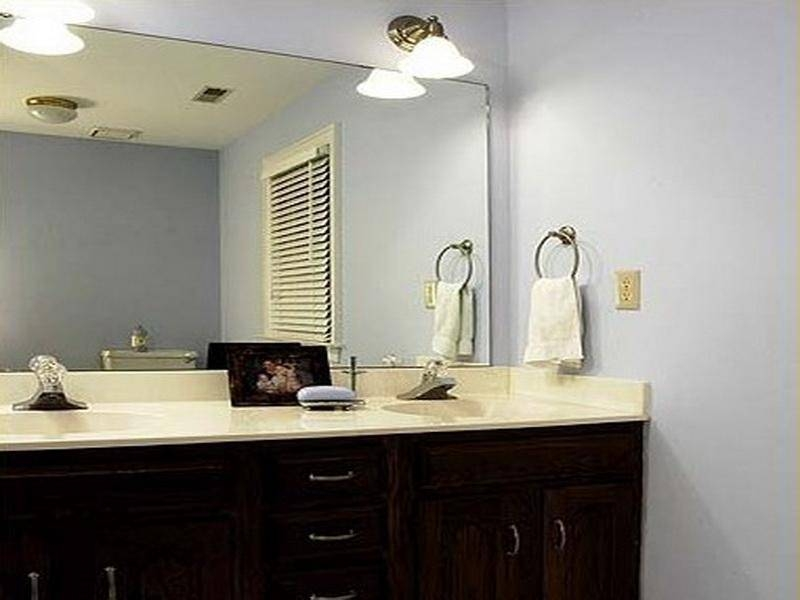 Bathroom Cabinets : Hallway Mirrors Bathroom Mirrors Online Silver Regarding Frameless Bathroom Wall Mirrors (#2 of 15)