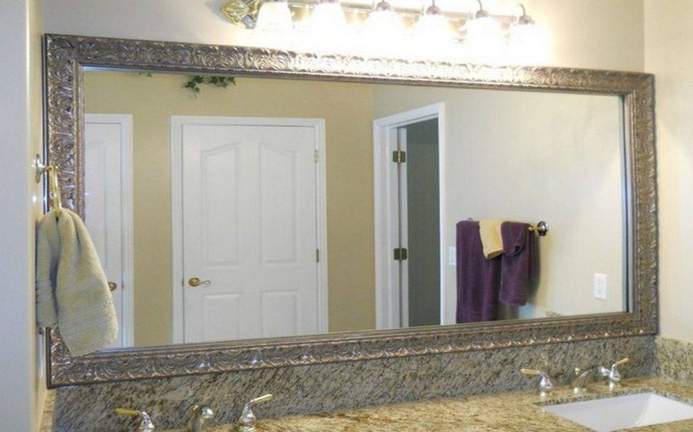 Bathroom Cabinets : Large Rectangular Wall Mirror Images Of Window In Long Rectangular Wall Mirrors (#2 of 15)