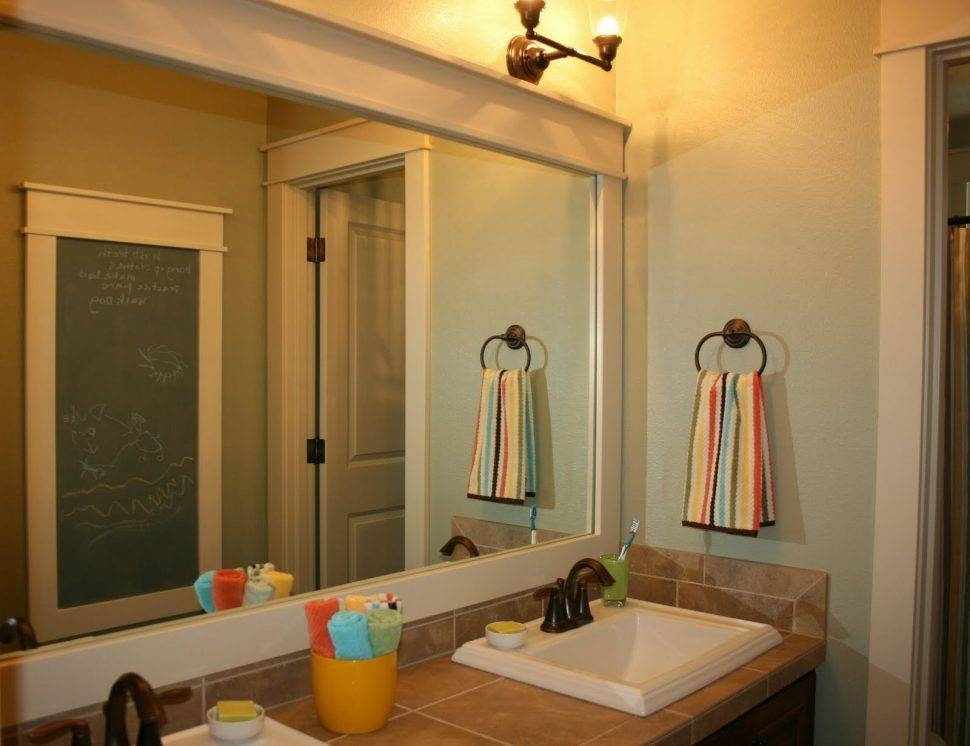 Bathroom Cabinets : Led Bathroom Mirrors High End Bath Vanities Pertaining To High End Wall Mirrors (View 14 of 15)