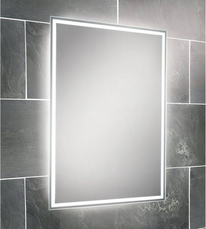 Bathroom Cabinets : Mirror Bathroom Cabinet With Light American Inside Standard Wall Mirrors (View 10 of 15)