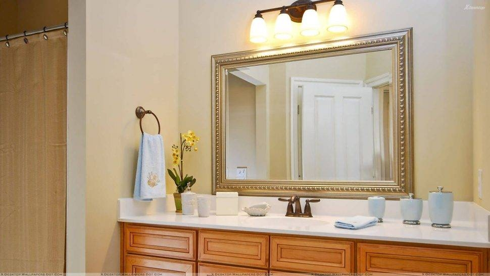 Bathroom Cabinets : Where To Buy Bathroom Mirrors Shaving Mirror Throughout Flat Wall Mirrors (#3 of 15)
