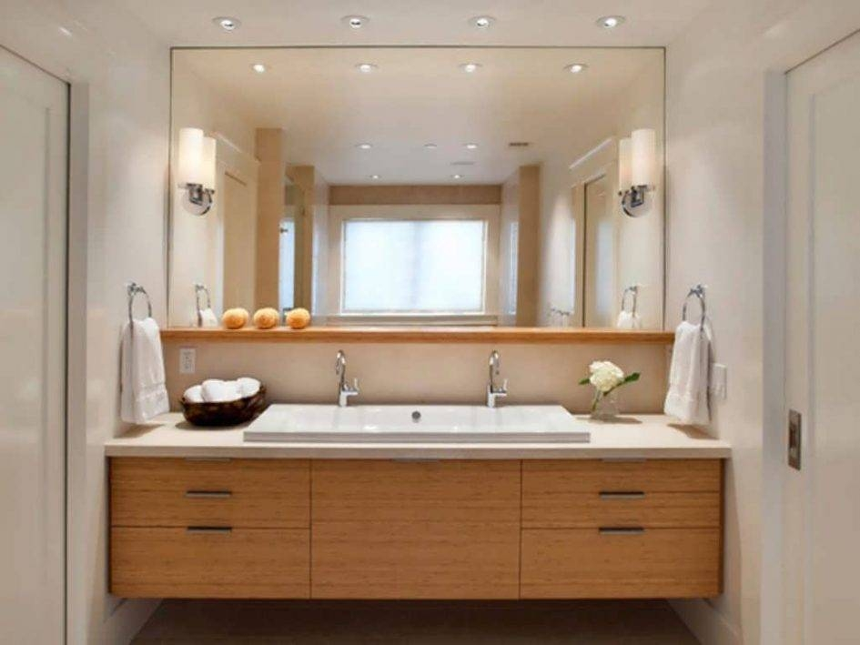mirrors bathroom vanity graceful frameless with large stunning for