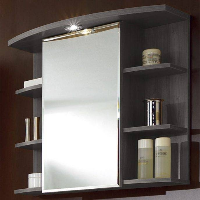 Bathroom Cabinets : White Medicine Cabinet With Mirror And In Bathroom Cabinets Mirrors (#1 of 15)