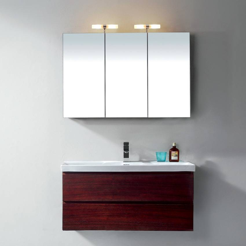 Bathroom Cabinets With Mirrors And Lights – Interior Design In Bathroom Cabinets Mirrors (#2 of 15)