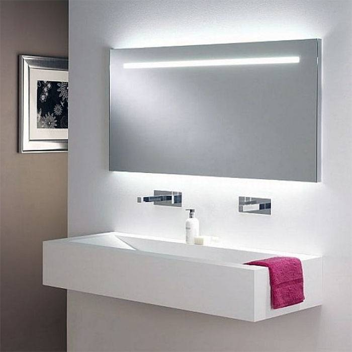 Bathroom Ceiling Light Fixtures | Home Design And Decoration Portal Intended For Led Strip Lights For Bathroom Mirrors (#6 of 15)
