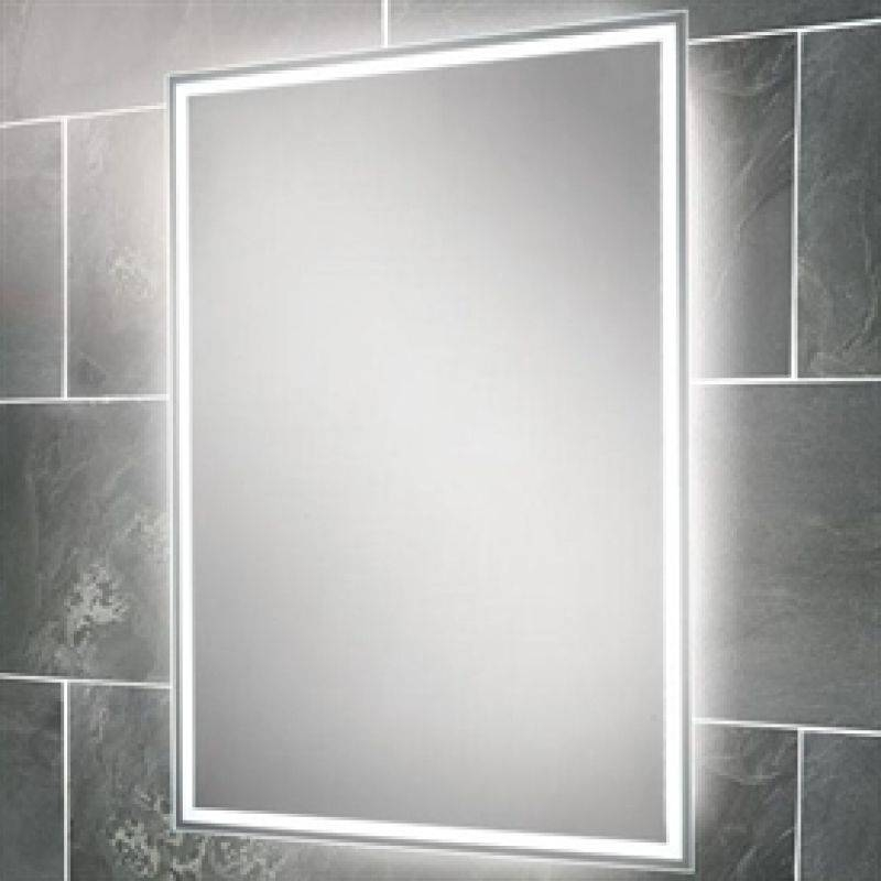 Bathroom Decor: Best Contemporary Bathroom Wall Mirrors Lighted Intended For Backlit Wall Mirrors (#7 of 15)
