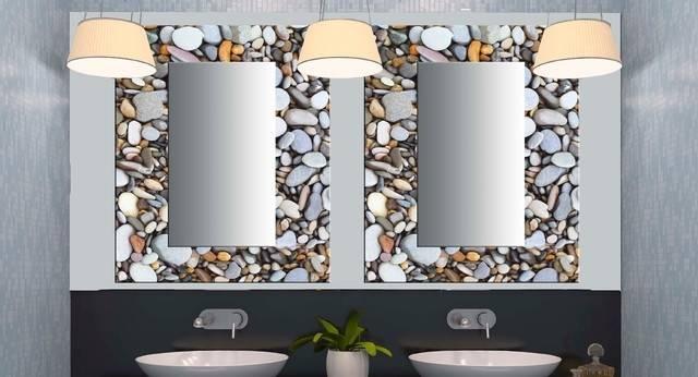 Bathroom Fancy Bathroom Wall Mirrors Modern On Decorative For For Fancy Bathroom Wall Mirrors (#6 of 15)